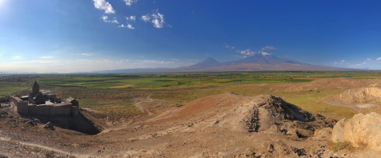 Pano of Mt. Ararat - Armenia - Copyright 2018 Ralph Velasco
