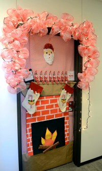 Door Decoration Contest Sparks New TTI Tradition  Texas A ...