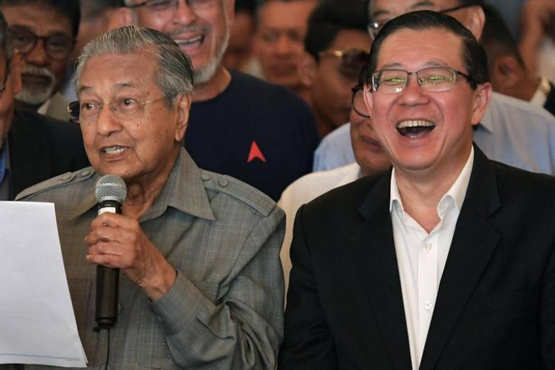 Dr-Mahathir-Mohamad-Lim-Guan-Eng-The-Straits-Times-1