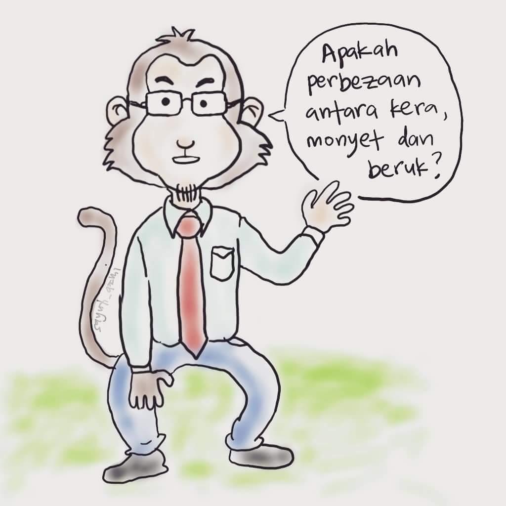 Apa perbezaan antara kera, monyet dan beruk?