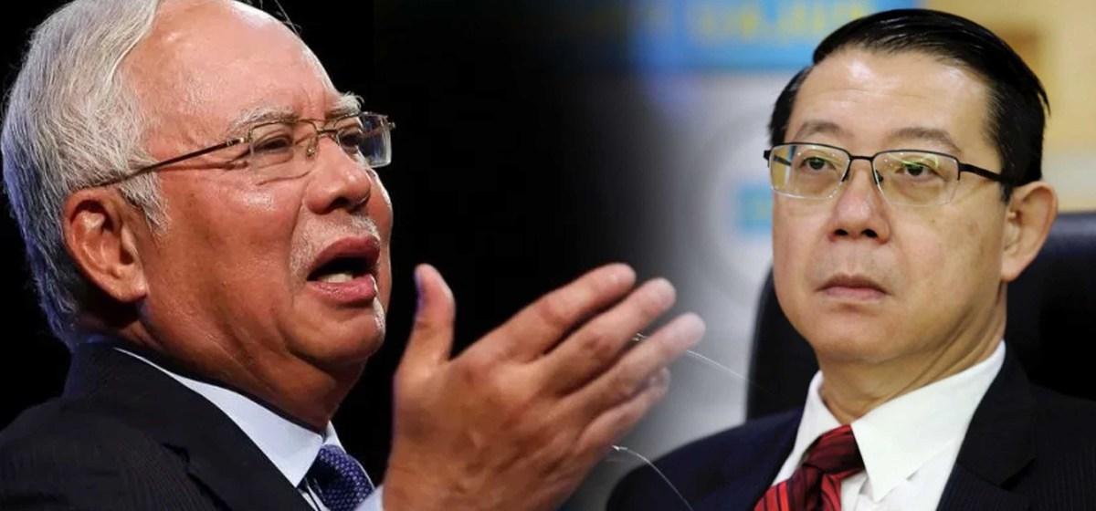 """""""Jawab 17 soalan ini!""""- Najib sekolahkan Guan Eng mengenai ekonomi."""