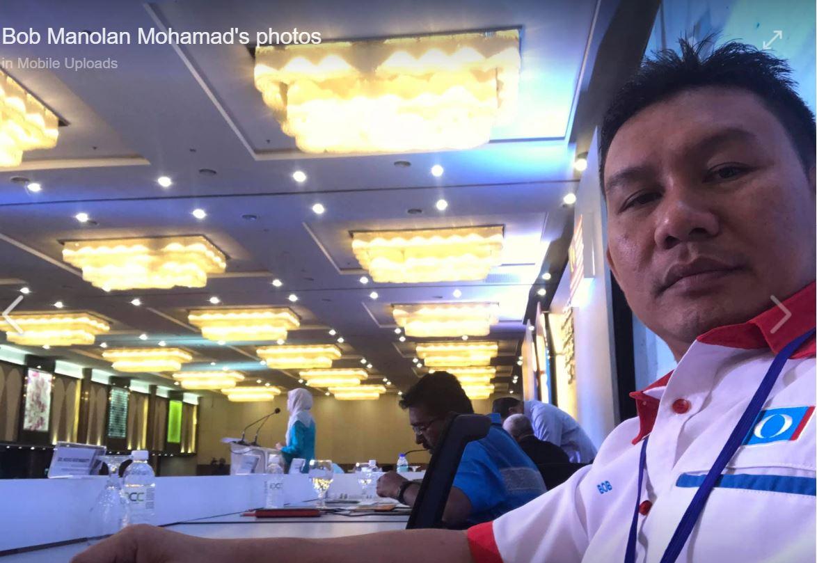 Isu ugut Tok Batin: FB Bob Manolan diserang netizen.