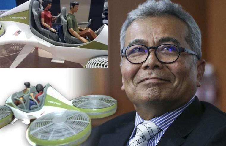 """""""Rekabentuk 'Vector' bakal jadi penanda aras kereta terbang masa hadapan""""- Menteri"""