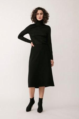 Stylein - Broni Skirt - Black - Front