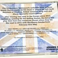 TTM US advance CD back