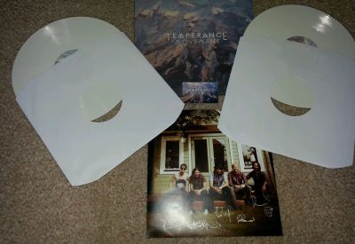 eBay : white LP for sale