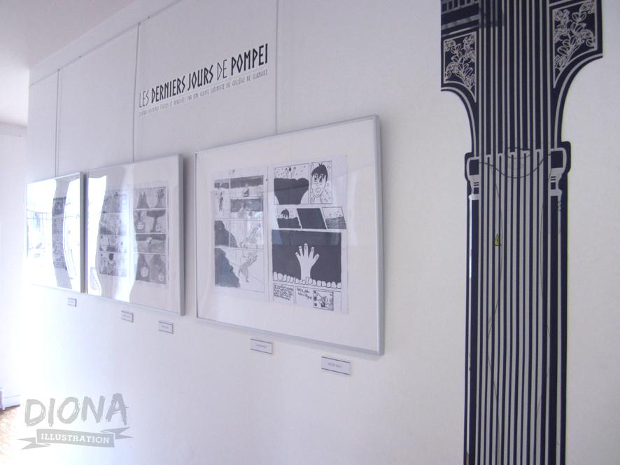 Expo : Les derniers jours de Pompéi