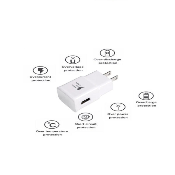 Adaptive Fast Wall Charger Galaxy S7 with Micro-USB Cable