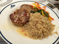 Crab Cake with Pilaf Rice