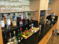 Wide selection of alcohol