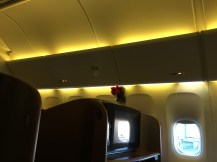 Right side of the cabin