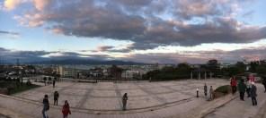 Evening view of Hakodate