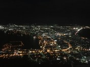 Night view from Mount Hakodate