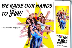 We Raise Our Hands For Fun!