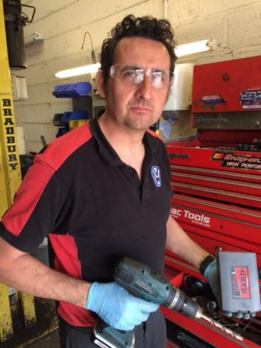 TTP HARD safety glasses on customer652x489 e1533642426376 - Best cobalt drill bits
