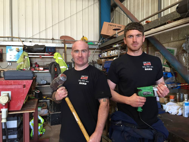 VJ Donegan fitters TTP HARD drills - Photos