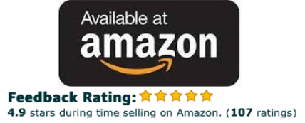 Available at Amazon 4.9 star - Homepage