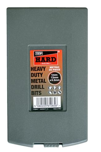 Cobalt drill set 25 piece metric - Cobalt drill bit sets