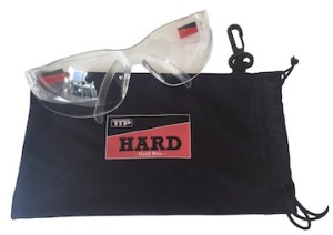 Safety Glasses Bag 350 x  - Safety Glasses with pouch