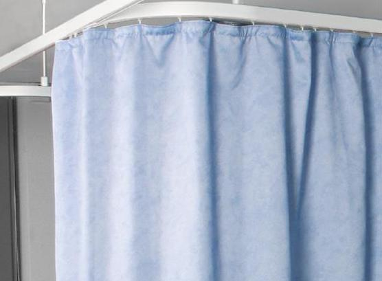 sticking curtain rail dry silicone