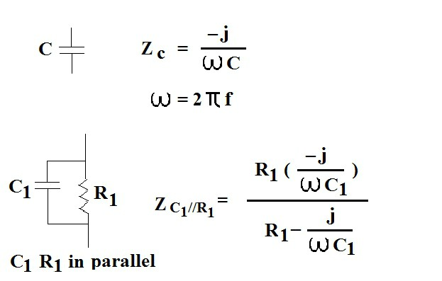parallel rc network