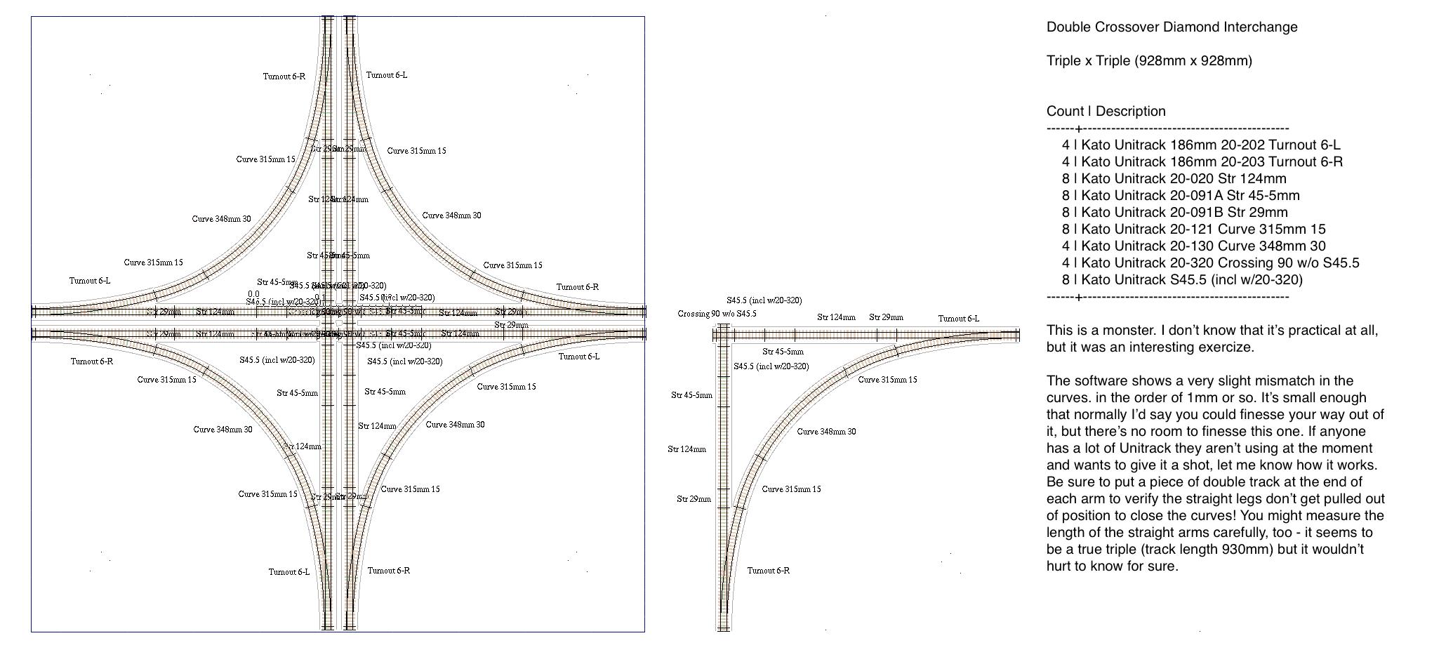 Double And Triple Length Interchange Modules