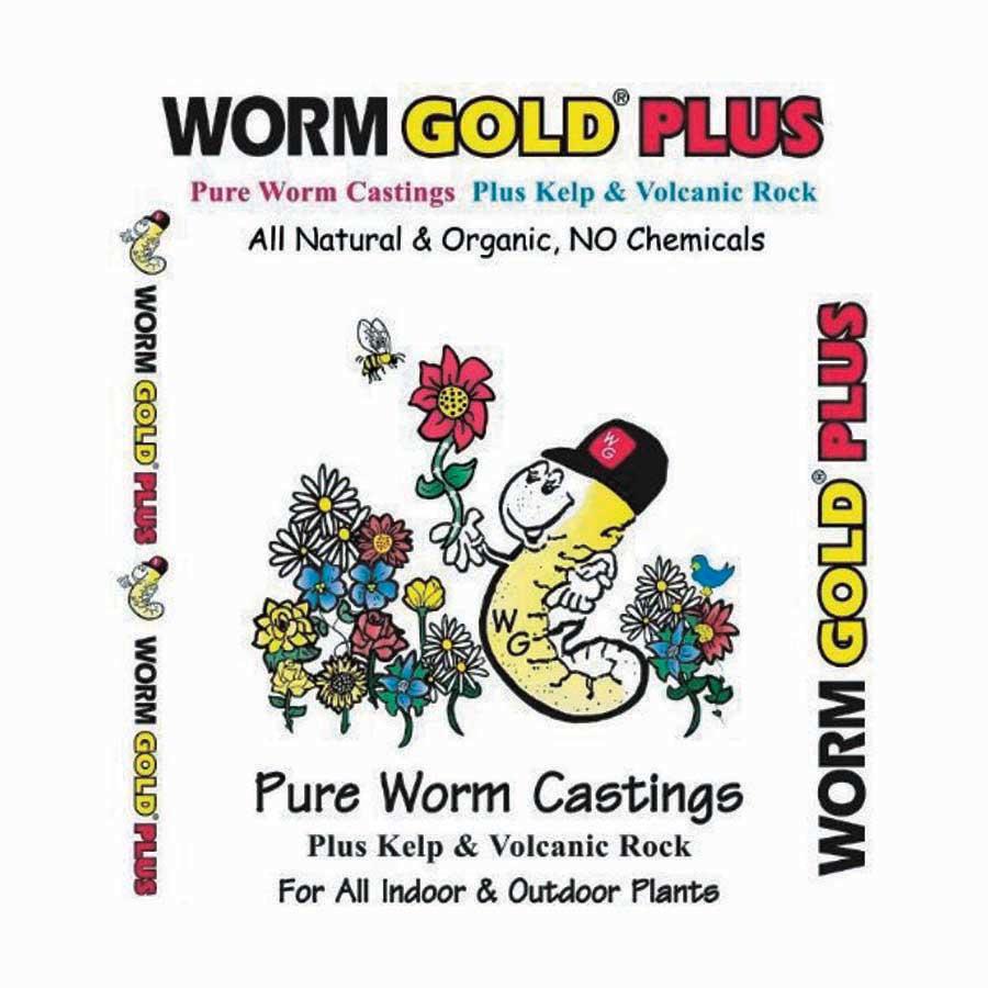 Wormgold Premium Mix - Qty. 40 lbs