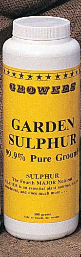 Garden Sulphur - Qty. 10 kg