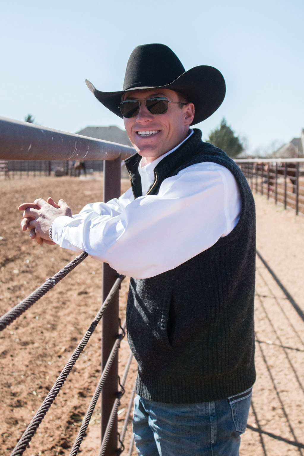 Stetson Corman took on the role as head coach of the Texas Tech Rodeo Team.