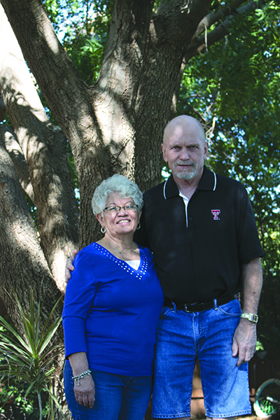 Mary Lou and her husband have been married for near 12 years.