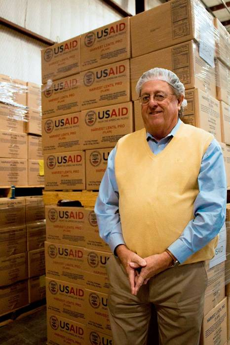 Breedlove CEO, Bill Miller, is constantly working to maintain relationships with delivery partners, like USAID.
