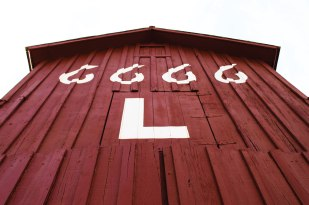This original Four Sixes Ranch barn stands at the National Ranching Heritage Museum in Lubbock.