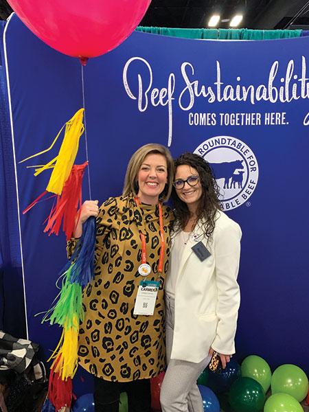 Carmen Fenton and Ashlee McDonald at the NCBA Convention