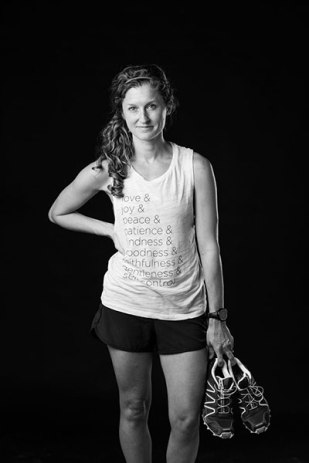 Lauren Finck, runner, sat in for a reActivate20 photoshoot. Photo curtesy of Jerod Foster.