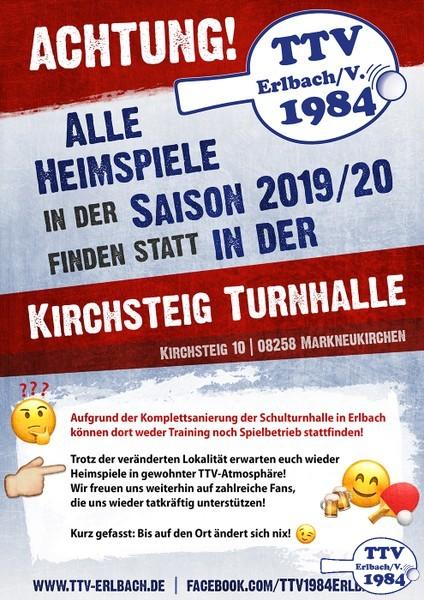 Kirchsteig-Turnhalle Homepage