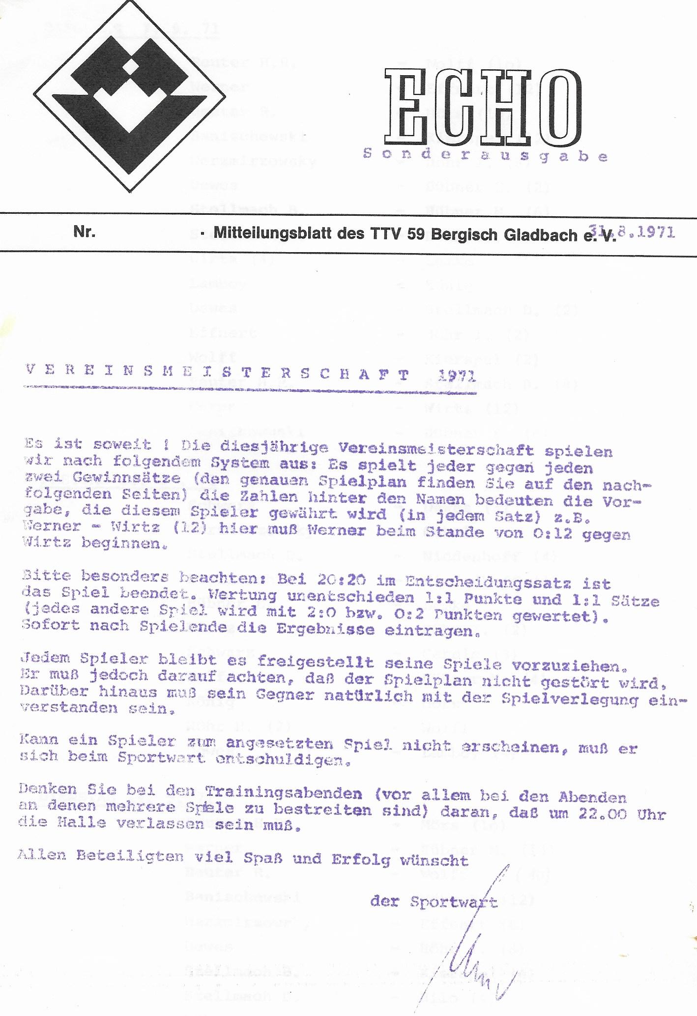 tischtennisverein 59 bergisch gladbach ev