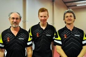 Division 1 Winners Waterloo Wolves (Craig, Gareth, Scott)