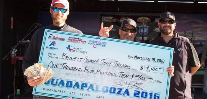 Thompson and Cowan best 65 boat field at Guadapalooza 2016
