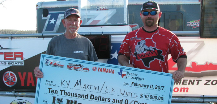 MARTIN / WATTS WIN WHITNEY WITH 23.37LBS AND TAKE HOME $10,000