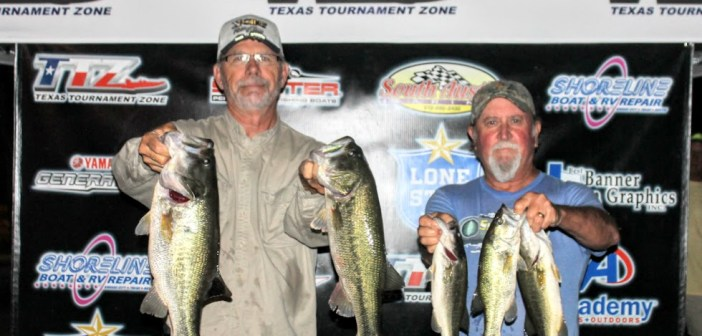 Mauldin and Gordon top 32 teams on Travis Tuesday with 15.11 lbs