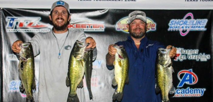 Dickenson and Ward win Travis Tuesday with 14.70 lbs