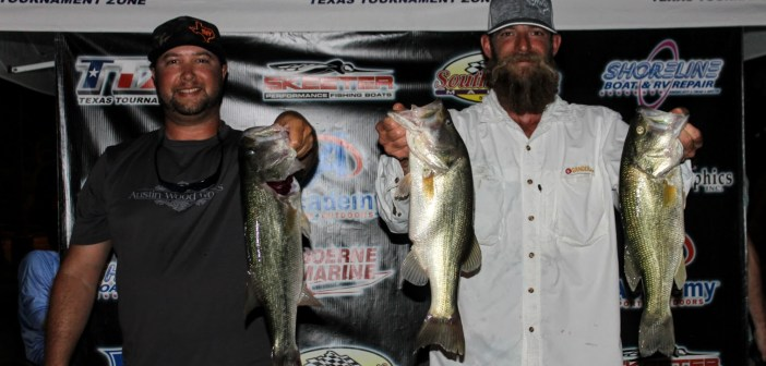 Ellis and Brooke win Travis Tuesday with 12.83lbs