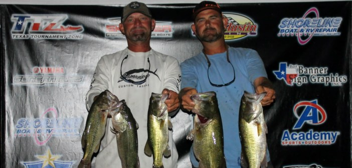 Groce and Whited win Travis Tuesday with 17.44 lbs