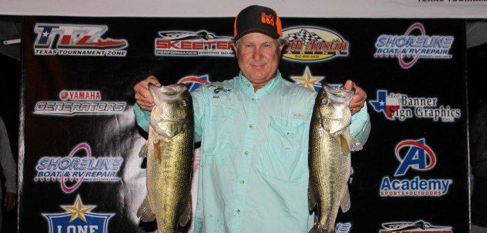 Johnson and Whitehead win Travis Tuesday with 12.33 lbs