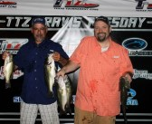Castillo and Ashbaugh win Travis Tuesday with 12.22 lbs