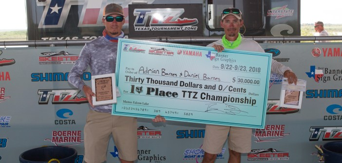 DANIEL & ADRIAN BARNES WEIGH IN A 2 DAY TOTAL OF 51.53LBS ON FALCON TO WIN THE 2018 CHAMPIONSHIP