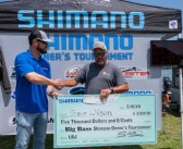 STEVE WILSON TAKES THE TOP HONOR AT THE SHIMANO OWNER'S TOURNAMENT WITH A 8.91 BIG BASS
