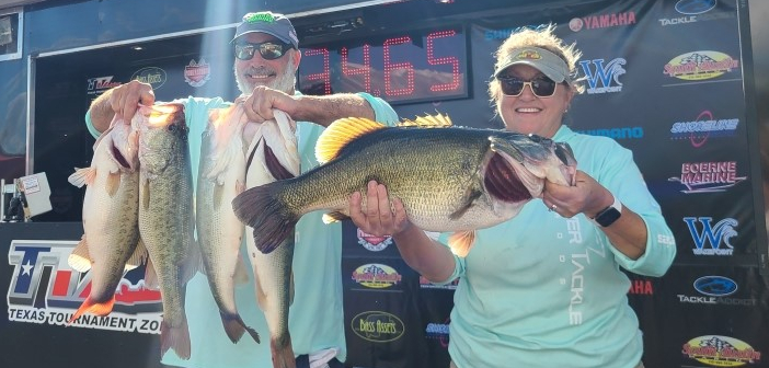 TIM & JUDY RENEAU WEIGH IN A MASSIVE 2 DAY TOTAL OF 61LBS TO WIN THE 2020 CHAMPIONSHIP ON CHOKE CANYON
