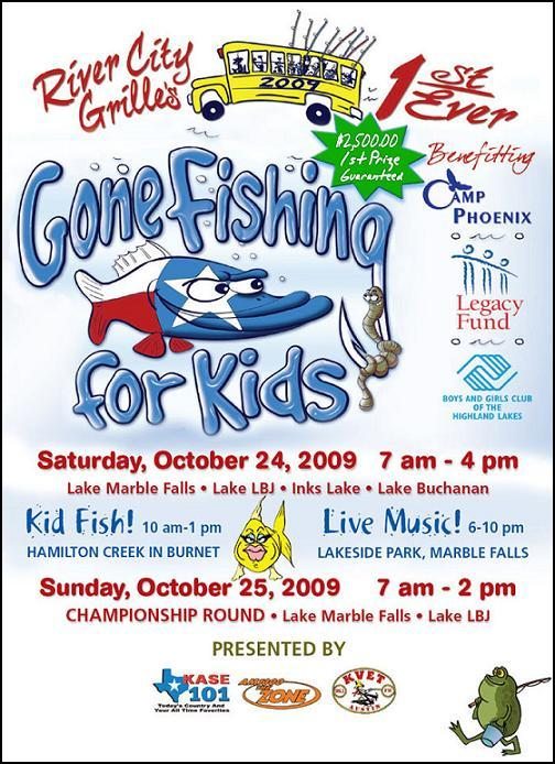 gone fishing for kids benefits highland lakes youth
