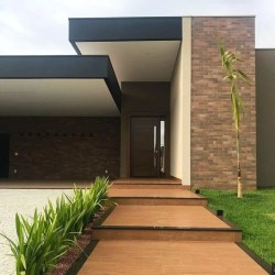 100 fachadas de casas modernas e incríveis para inspirar seu projeto